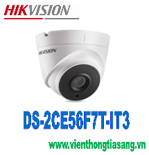 CAMERA HD-TVI DOME HỒNG NGOẠI 3.0 MEGAPIXEL HIKVISION DS-2CE56F7T-IT3