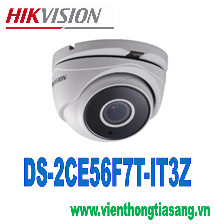 CAMERA HD-TVI DOME HỒNG NGOẠI 3.0 MEGAPIXEL HIKVISION DS-2CE56F7T-IT3Z