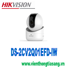 CAMERA  IP ROBOT 1.0 MEGAPIXEL WIFI XOAY 4 CHIỀU HIKVISION DS-2CV2Q01EFD-IW