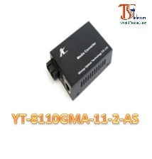 MEDIA CONVERTER 10/100/1000M YT-8110GMA-11-2-AS