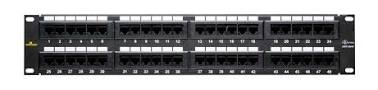 PATCH PANEL 48 PORT, CAT 6